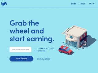 lyft.com screenshot