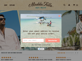 maddafella.com screenshot