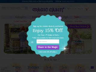 magiccabin.com screenshot