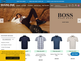 mainlinemenswear.co.uk screenshot