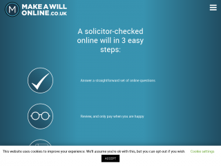 makeawillonline.co.uk screenshot