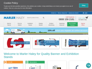 marlerhaley.co.uk screenshot