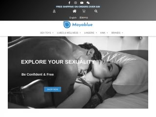 mayablue.ca screenshot