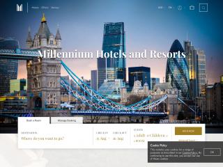 millenniumhotels.com