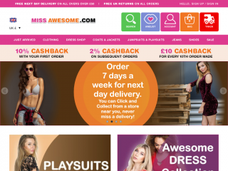 missawesome.com screenshot