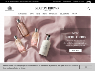 moltonbrown.co.uk screenshot