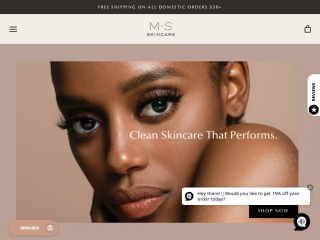 msskincare.co screenshot