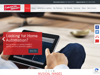 musical-images.co.uk screenshot