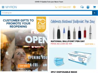 myron.ca screenshot