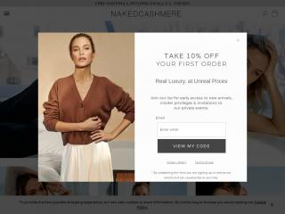 nakedcashmere.com screenshot