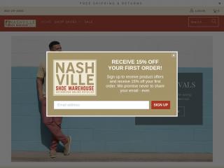 nashvilleshoewarehouse.com
