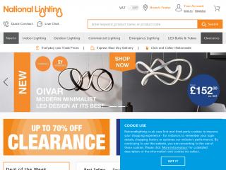 nationallighting.co.uk screenshot
