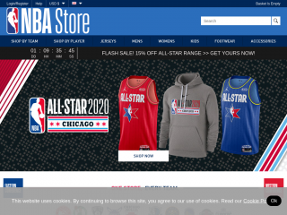 nbastore.eu screenshot