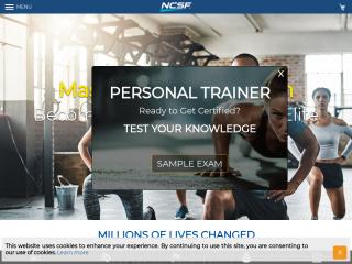 ncsf.org screenshot
