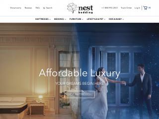 nestbedding.com screenshot
