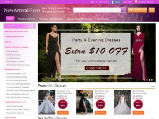 newarrivaldress.com screenshot