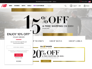 69eed52b8 New Balance Coupon & Promo Codes On July 2019 - Coupon Deer