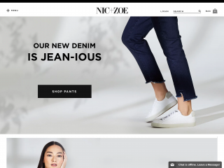 nicandzoe.com screenshot