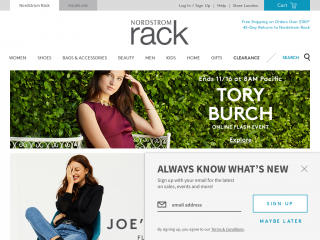 nordstromrack.com screenshot