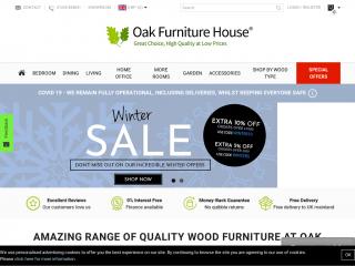 oakfurniturehouse.co.uk screenshot