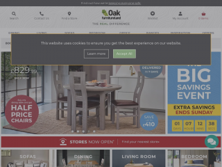 oakfurnitureland.co.uk screenshot