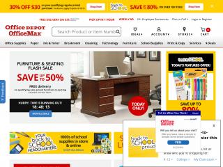 officedepot.com screenshot