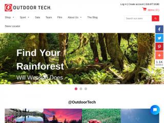 outdoortechnology.com screenshot