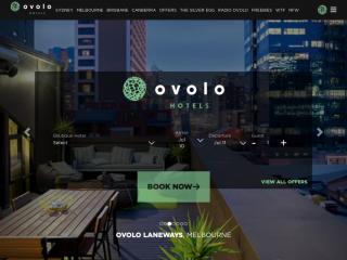 ovolohotels.com.au screenshot
