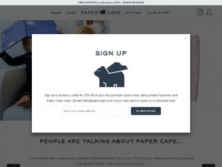 papercape.com screenshot