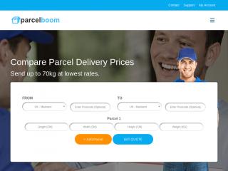 parcelboom.com screenshot