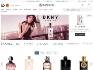 parfumdreams.com screenshot