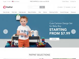 patpat.com screenshot