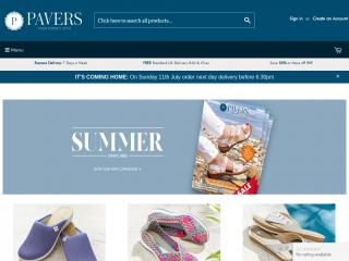 pavers.co.uk screenshot