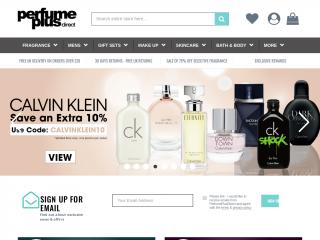 perfumeplusdirect.co.uk screenshot