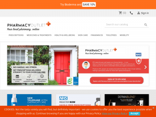 pharmacyoutlet.co.uk screenshot