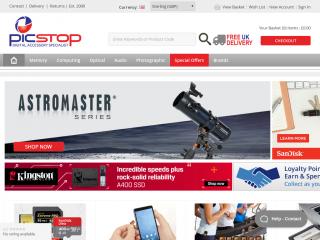 picstop.co.uk screenshot