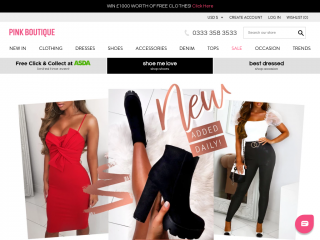 pinkboutique.co.uk screenshot