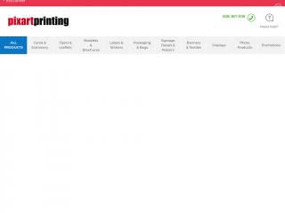 pixartprinting.co.uk screenshot