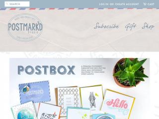 postmarkdstudio.com screenshot