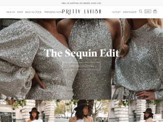 prettylavish.co.uk screenshot