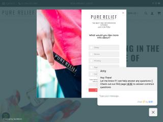 purerelief.com screenshot