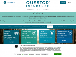 questor-insurance.co.uk screenshot