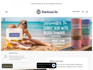 rainbowlife.co.uk screenshot