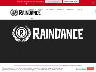raindance.org screenshot
