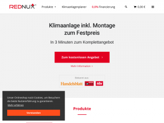rednux.com screenshot