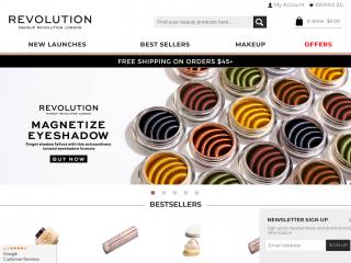 revolutionbeautyusa.com screenshot