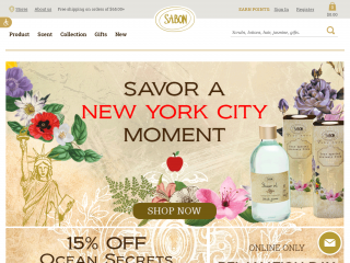 sabonnyc.com screenshot