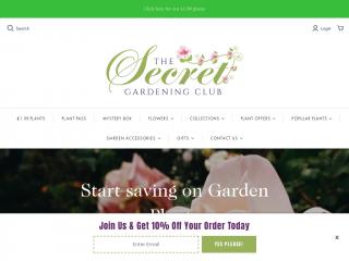 secretgardeningclub.co.uk screenshot