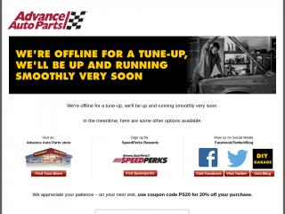 shop.advanceautoparts.com screenshot