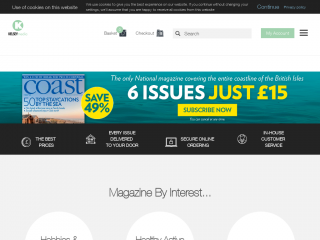 shop.kelsey.co.uk screenshot